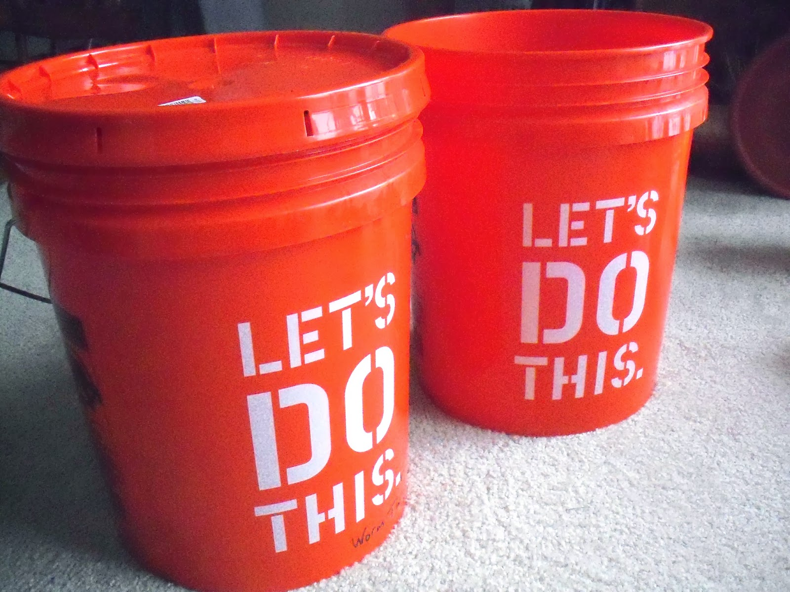 a Brick house: Worm composting bucket - DIY