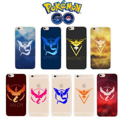 PokemonGo: Pokemonízate con Accesorios, Sudaderas, Carcasas (todo low-cost)