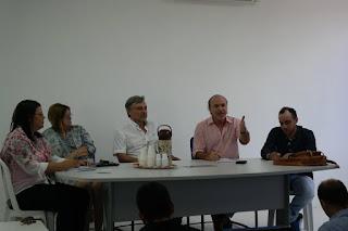 Professores do CES/UFCG se reúnem com equipe da futura gestão municipal de Cuité