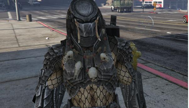 MOD Skin Predator