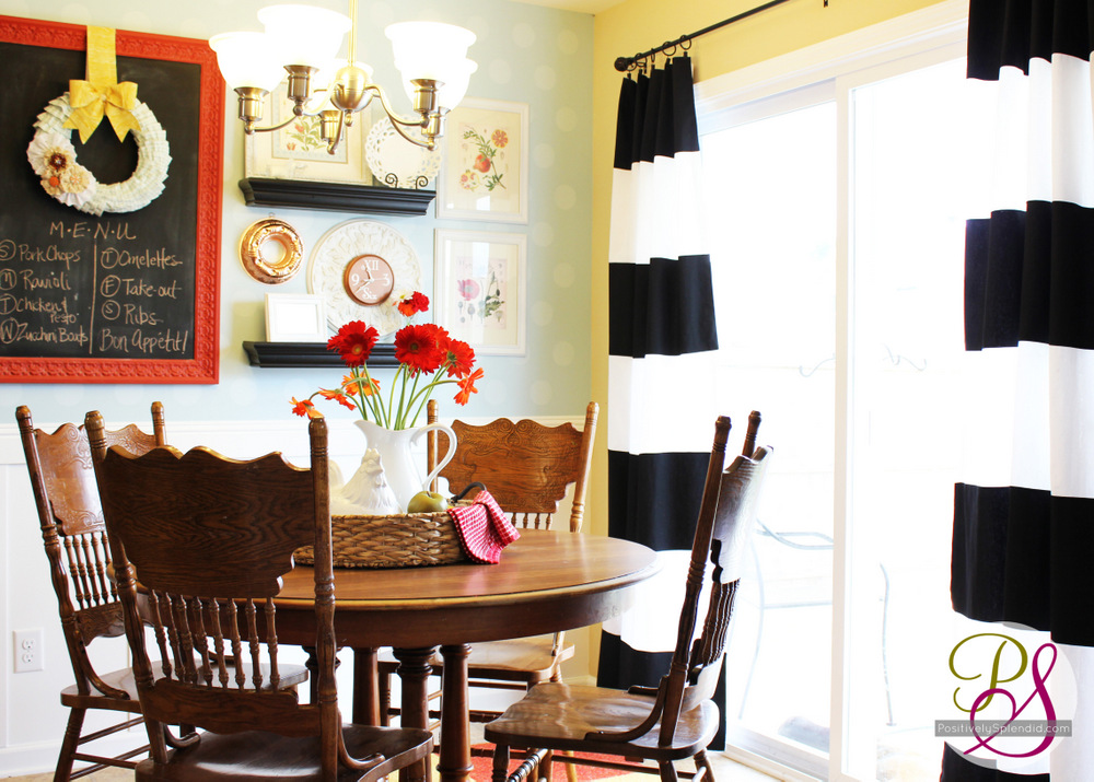 How To Make Striped Drapes
