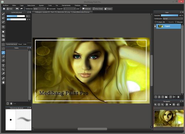 MediBang Paint Pro 24.4 | Programa digital ligero para artistas e ilustradores de cómic o quienes quieran aprender