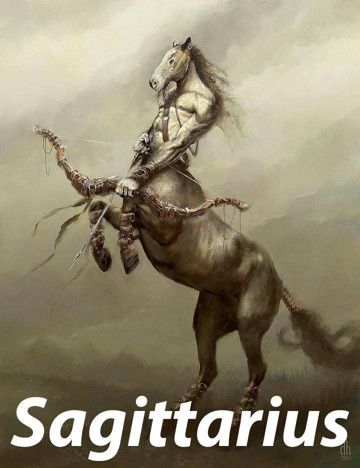 zodiac, horoscope, sagittarius