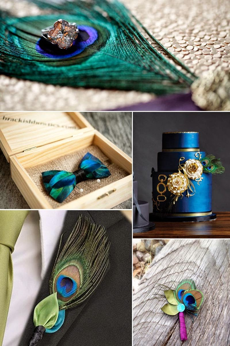 a Unique One With the Peacock Theme Party