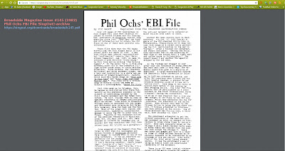 Phil Ochs FBI File