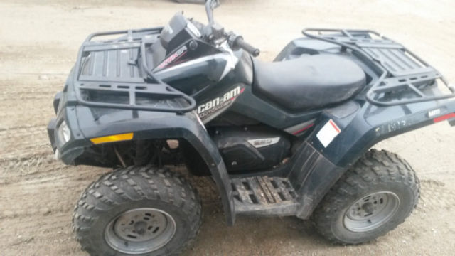 sask trail riders atv review 2007 can am outlander 650. Black Bedroom Furniture Sets. Home Design Ideas