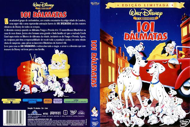Capa DVD 101 DÁLMATAS