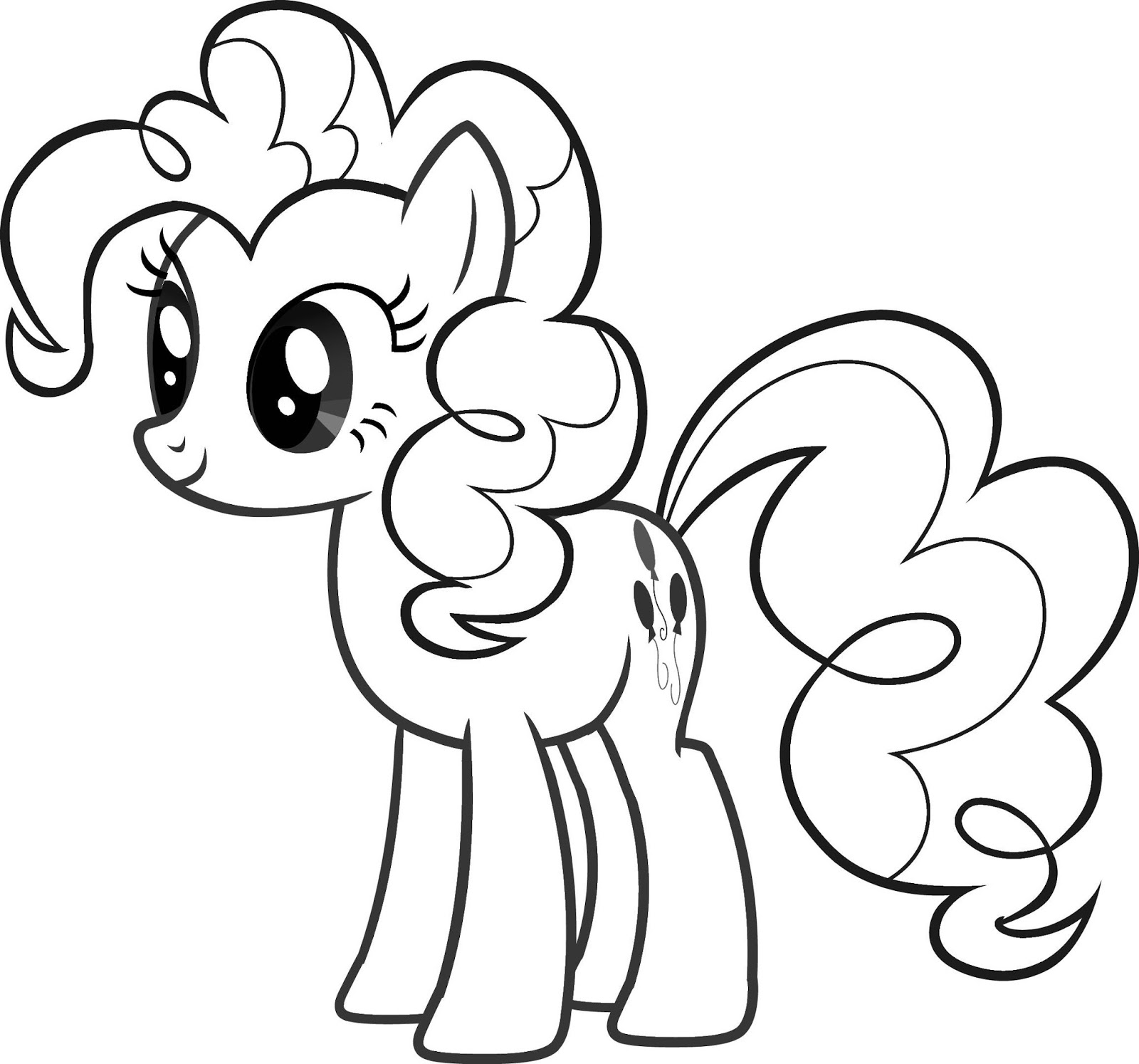 Fun Amp Learn Free Worksheets For Kid My Little Pony Free Coloring Pages