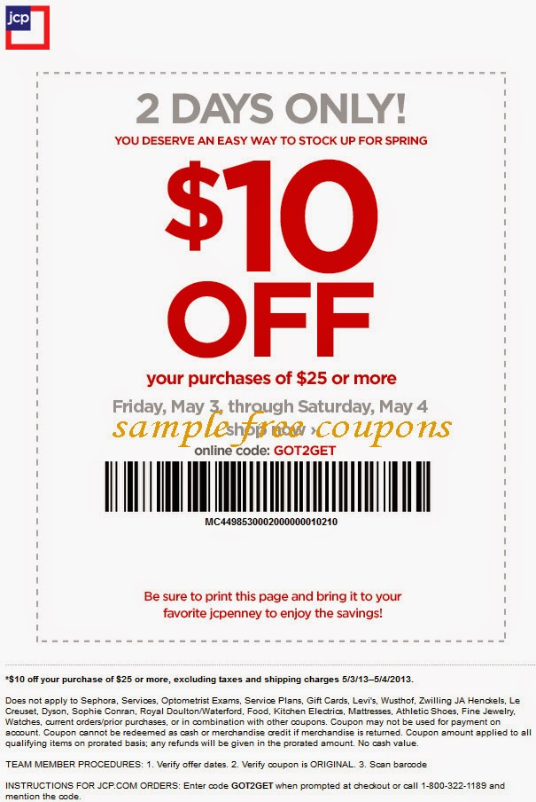 Jcpenney portrait coupons online codes