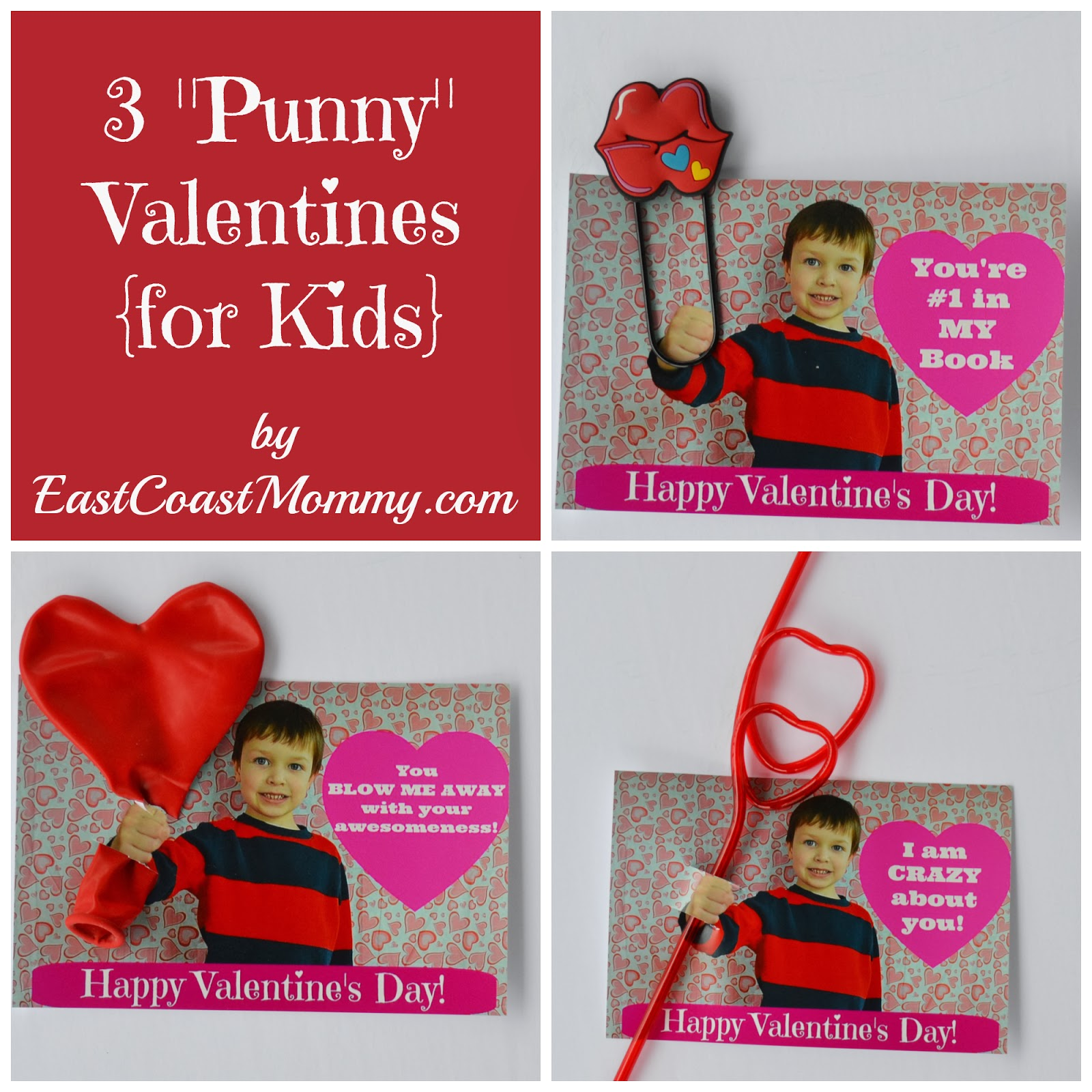 East Coast Mommy: 7 Unique Valentines {for kids to share}