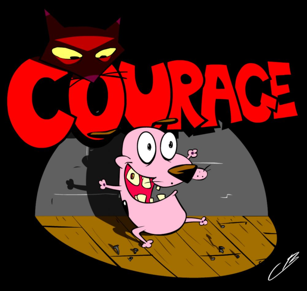 Courage The Cowardly Dog Wallpapers Mega Wallpapers