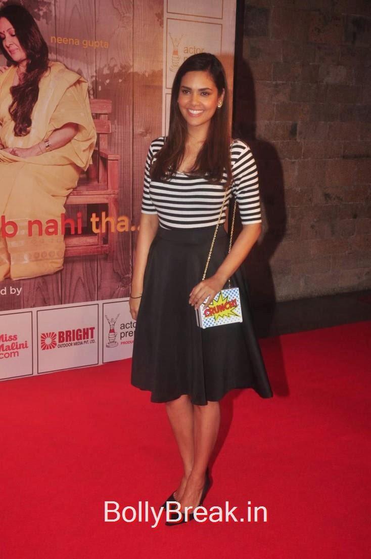 Esha Gupta, Elli Avram, Esha Gupta Hot Pics At Opening for Anupam Kher Neena Gupta Play