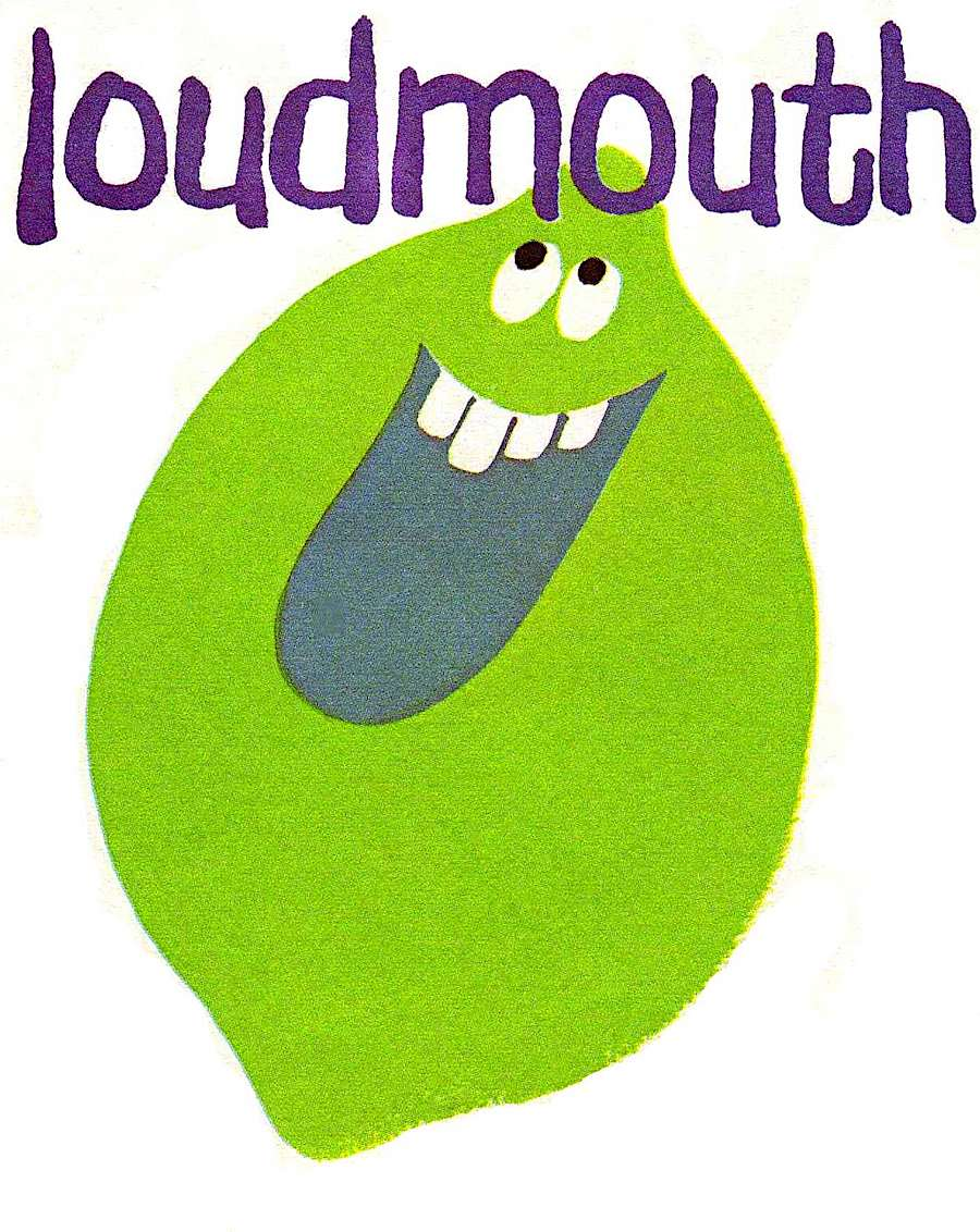 Loudmouth Lime from Funny Face,  the 1960s powdered kids' drink