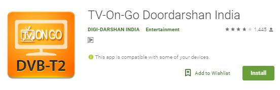 TV On Go Doordarshan India