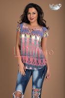 Bluza voal multicolor (Tiffani)