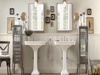 Bathroom Lights Restoration Hardware bathroom lighting design fixtures tips