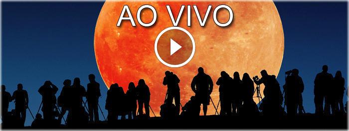 eclipse lunar total do dia 27 de setembro de 2015 - transmissão ao vivo