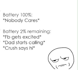 funny pics - mobile phone battery