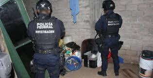 POLICÍA FEDERAL ASEGURA LABORATORIO CLANDESTINO PRESUNTAMENTE UTILIZADO PARA LA ELABORACIÓN DE METANFETAMINA