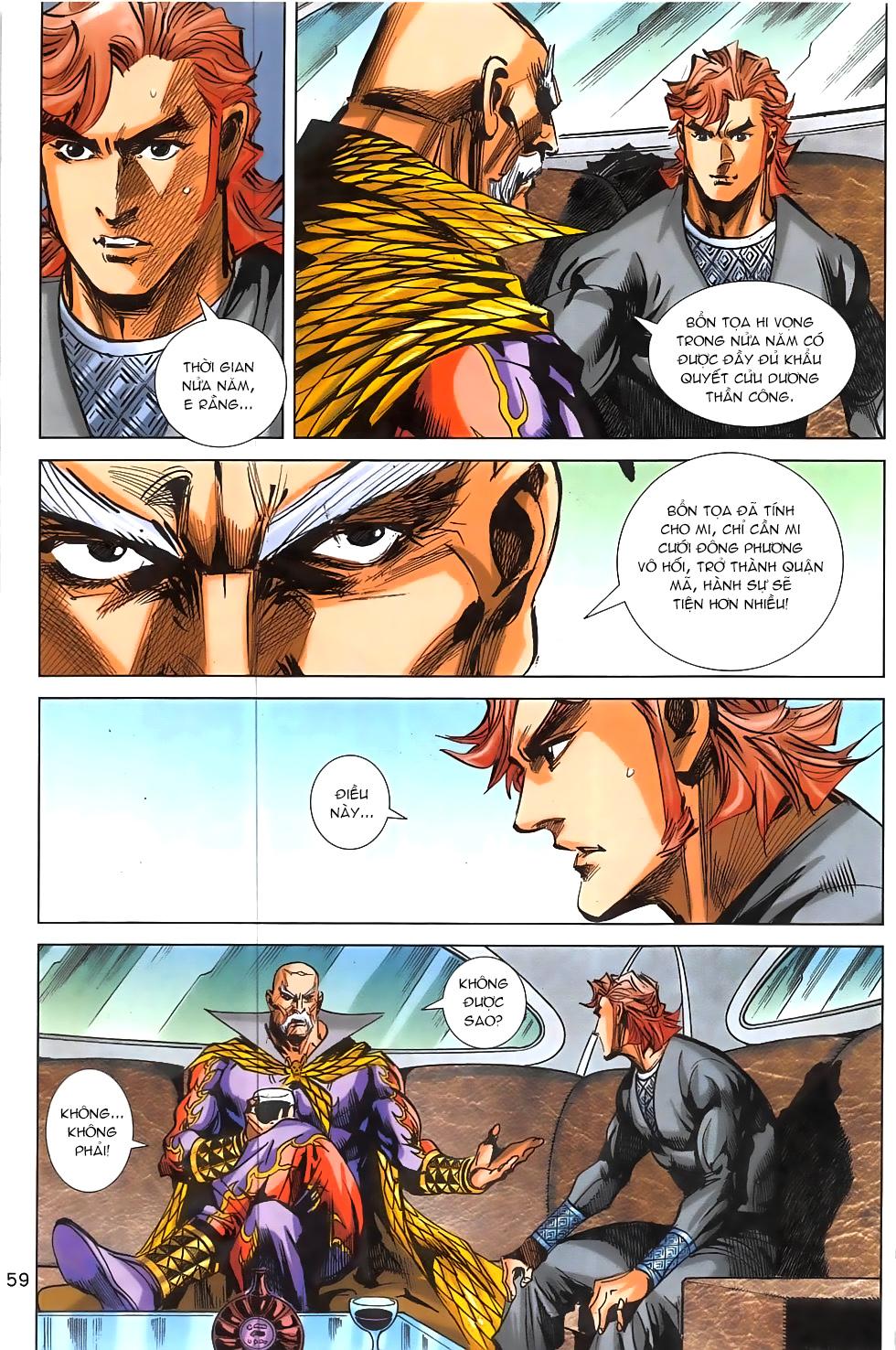 Hoàng Giả Chi Lộ chap 12.2 Trang 31 - Mangak.info