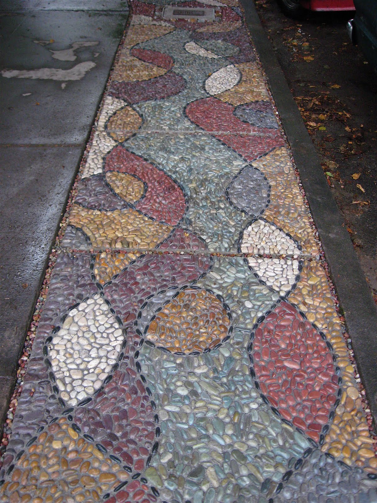 Jeffrey Bale's World of Gardens: Building a Pebble Mosaic ...