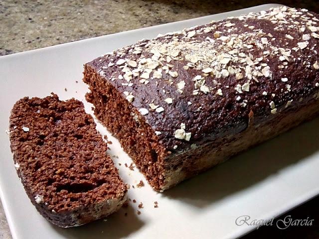 Bizcocho de cacao sin azúcar añadido