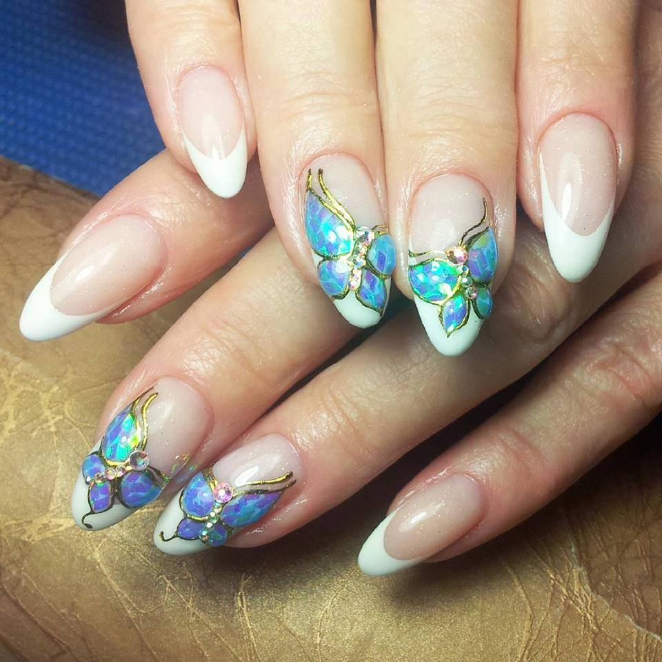 Easy Nail Designs: 15 Easy Flower Nail Art Designs