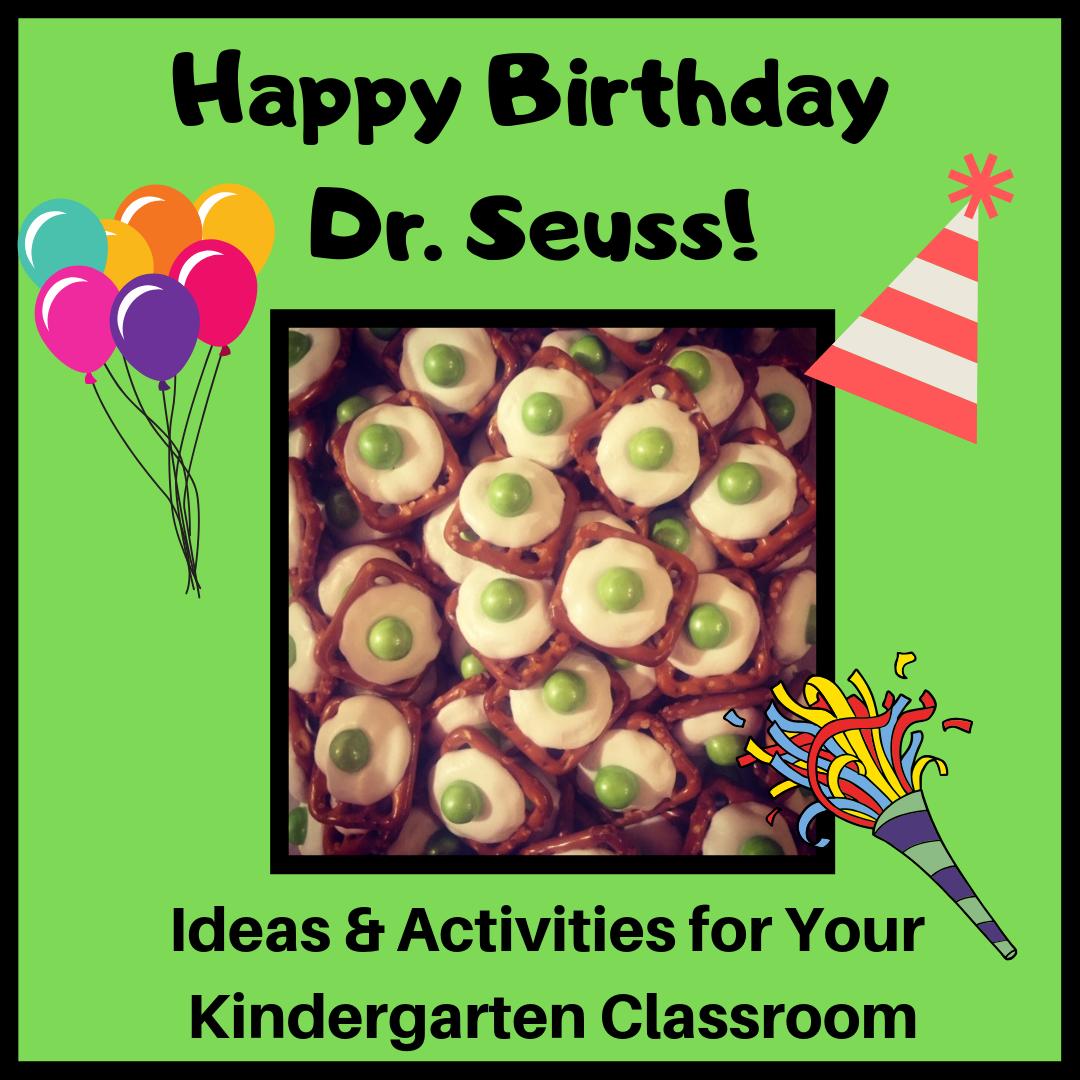 Tlc Kindergarten Happy Birthday Dr Seuss
