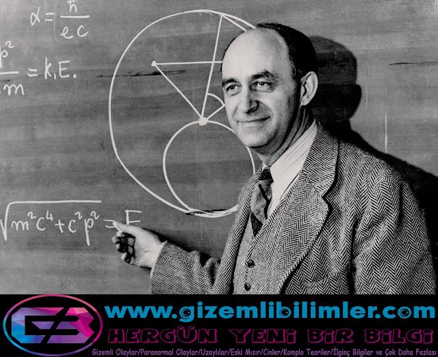 Enrico Fermi,evren, uzay, dünya, gezegenler, uzaylılar, güneş,fermi paradok
