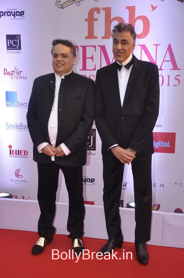 Sandeep Khosla and Abu Jani, Femina Miss India 2015 Red Carpet Photo Gallery