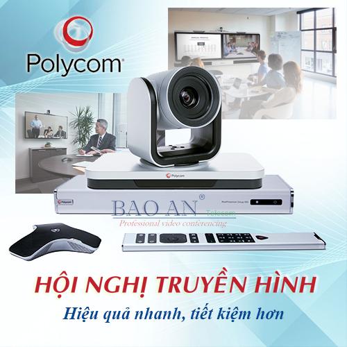 Hội nghị truyền hình Polycom