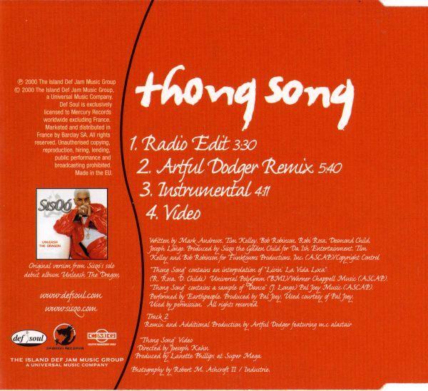Sisqo thong song (samm & kidzoo remix) free download by samm.