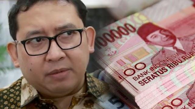 Ckckckckcckk....Kura Kura Dalam Perahu, Sok Nyinyirin THR Yang Diberikan Jokowi Kepada PNS & Honorer, Gak Tahunya Fadli Zon Juga Kebagian Segini.....