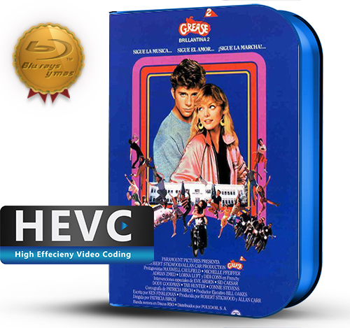 Grease 2 (1982) 1080P HEVC-8Bits BDRip Latino/Ingles(Subt.Esp)(Musical)