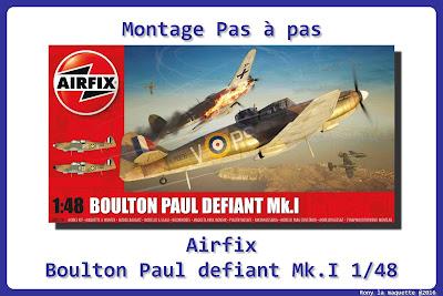 Montage Boulton Paul Défiant Airfix 1/48