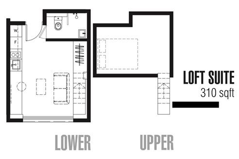 One Tree at Outram Loft Suites - Floor Plan