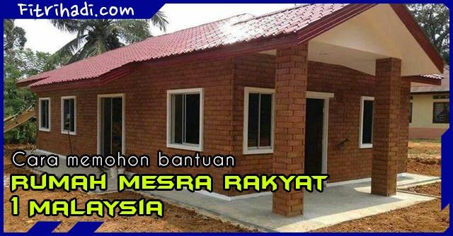 (Tips) Cara Mohon Bantuan Rumah Mesra Rakyat (RMR) 1 Malaysia