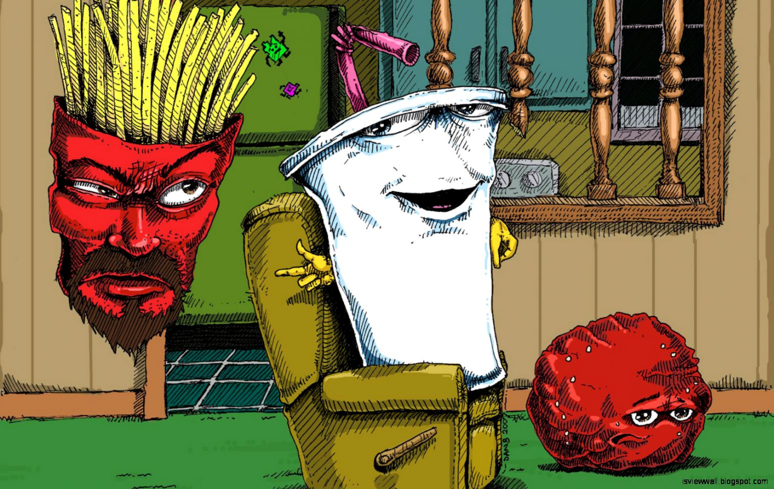 Aqua Teen Hunger Force Hd Wallpapers View Wallpapers