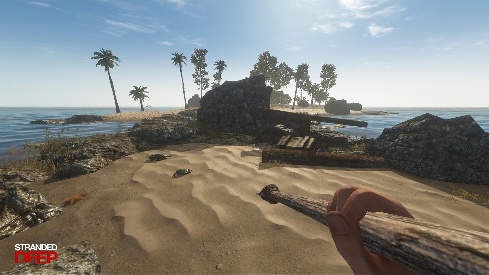 تحميل لعبة stranded deep