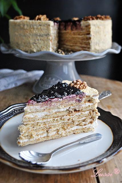 Торта Медовик / Medovik - Honey Cake