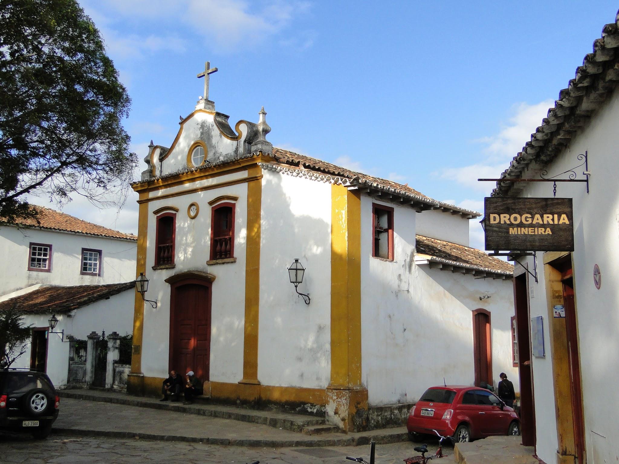 Capela Bom Jesus da Pobreza, Tiradentes/MG