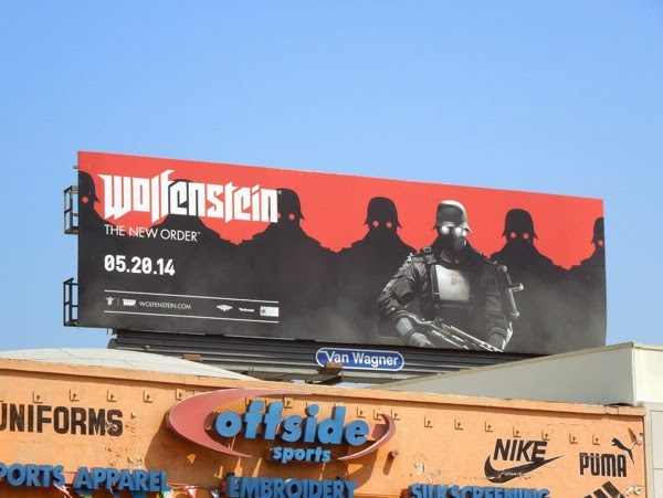 Wolfenstein New Order soldier billboard