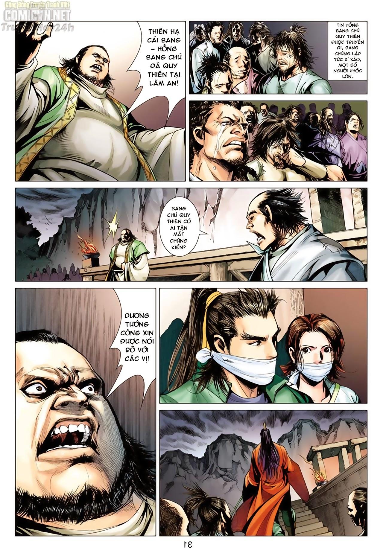 Anh Hùng Xạ Điêu anh hùng xạ đêu chap 65: cái bang tân chủ trang 31