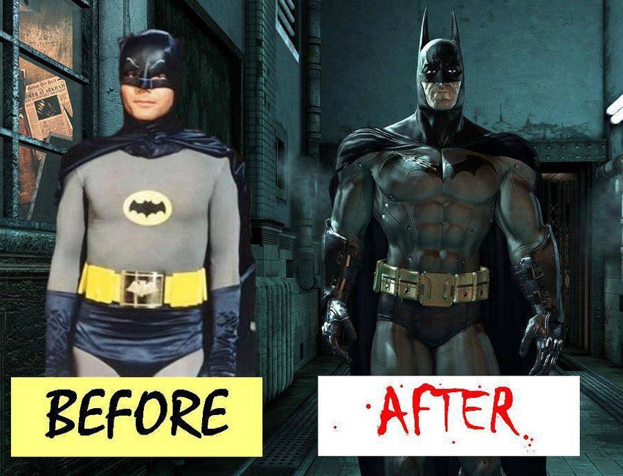 STRENGTH FIGHTER™: Batman on steroids