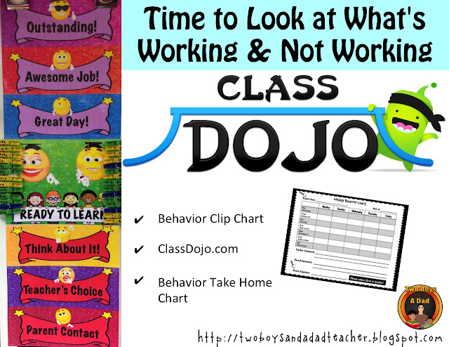 ClassDojo and Behavior Charts