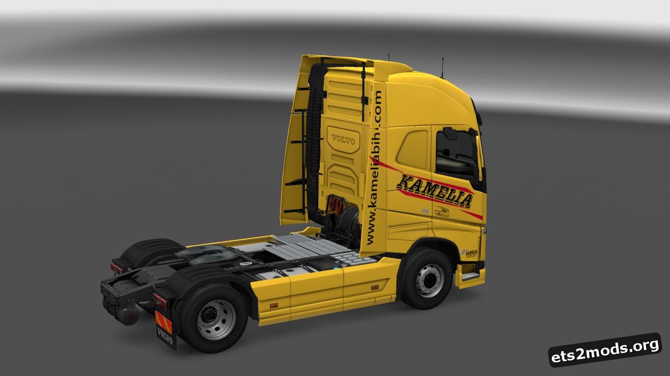 Kamelia Skin for Volvo 2012 & 2013