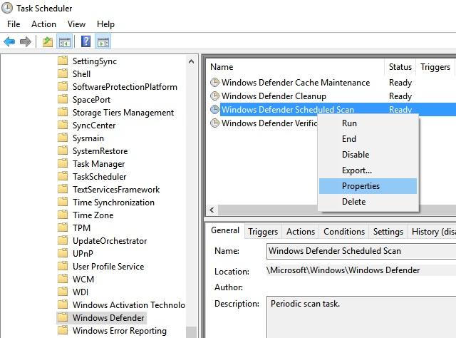 Windows Defender Cache Maintenance,