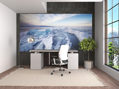 3D wallpaper ideas for small office walls