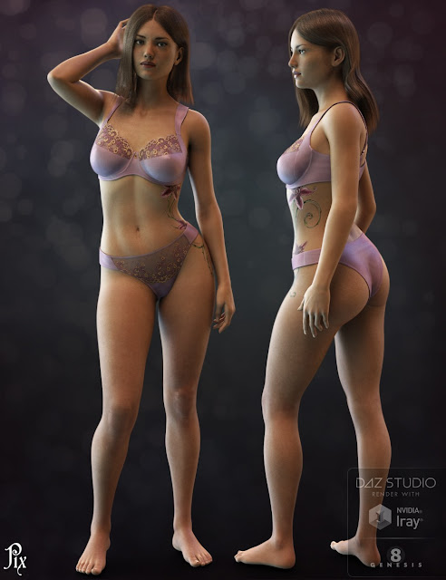 Pix Liliana for Genesis 8 Female