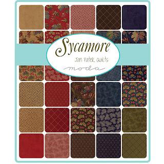 Moda Sycamore Fabric by Jan Patek Quilts for Moda Fabrics